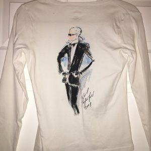 2008 Karl Lagerfeld Collector's Tee